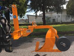 arado monosurco dp 18 para tractor pequeño