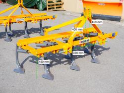 cultivador 7 brazos con patas de ganzo anchura 140cm para tractor de 140 7 v