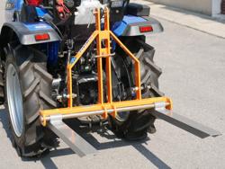 elevador trasero de palets para enganche de tractor mod d 300