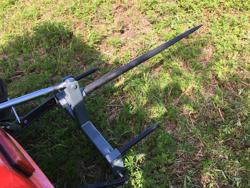pinche transportador de heno para tractores dk 3