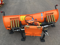 pala quitanieves frontal con placa para tractor ln 220 a