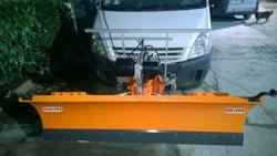 pala quitanieves frontal para furgones ln 175 j