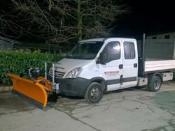 pala quitanieves frontal para furgones ln 220 j