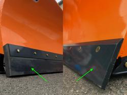 pala quitanieves para cargadoras compactas hasta 3 toneladas ln 200 m