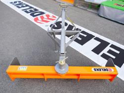 cuchilla niveladora 130cm para enganche de tractor modelo dl 130