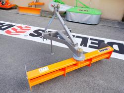 cuchilla niveladora polivalente 170cm para tractor mod dl 170