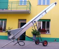 cinta transportadora hidraulica para tractor mod ntl