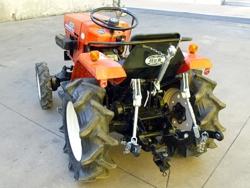 enganche tres puntos para micro tractores kubota iseki