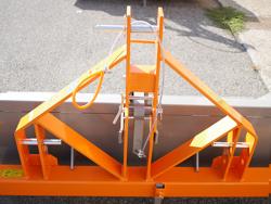 pala reclinable para tractor serie pesada mod prm 180 h