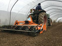enterrador de piedras dfu 100 para tractor pequeño
