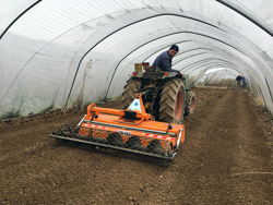enterrador de piedras dfu 140 para tractor kioti john deere etc