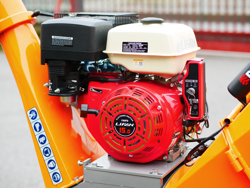 trituradora de ramas térmica dk 800 lf con motor independiente 15cv
