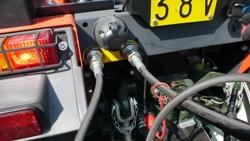 pala trasera hidraulica 180cm para enganche de tractor mod pri 180 h