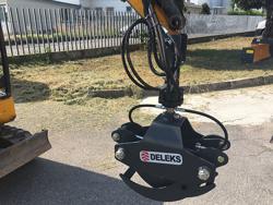 pinza para mini excavadoras y grúas forestales capacidad 400kg mod dk 10
