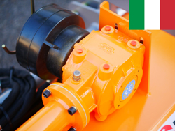 trituradora desplazamiento idraulico rino 180 para olivo y fruteto