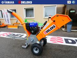 trituradora de ramas térmica dk 800 yamaha con motor independiente
