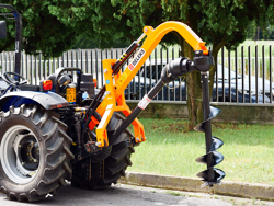 ahoyadora agricola hidráulica para tractor l 50h
