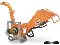 trituradora de ramas dk 1300 para tractor con rodillo de alimentacion hidraulico