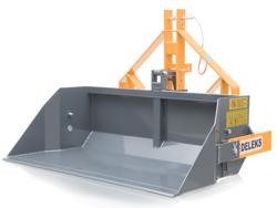pala mecanica reforzada para tractor modelo prm 140 h