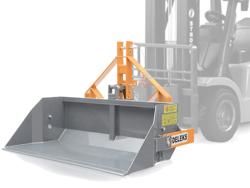 pala de 2 metros y capacidad 700kg para carretilla elevadora mod prm 200 hm