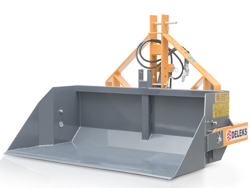 pala de cargamiento reforzada para tractor 140cm modelo pri 140 h