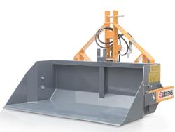 pala reforzada de 2 metros piston hidraulico para tractor mod pri 200 h