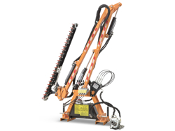 recortadora de brazo hidraulica cortasetos para tractor mod falco 130