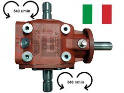 caja de transmisión rebos italia reversible