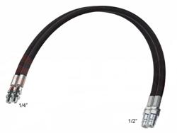 2 flexibles hidráulicos de 4 00m