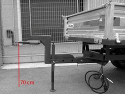 modificación altura timón 700mm