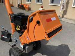 trituradora de ramas térmica dk 800 b amp s con motor independiente 15cv