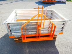 caja de transporte basculante para tractor modelo t 1400