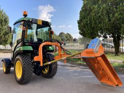 trituradora de brazo ligera para pequeno tractor mod volpe 120