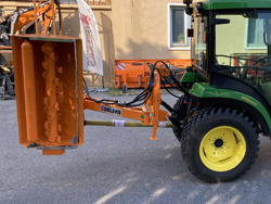 desbrozadora de brazo polivalente ligera para tractor mod volpe 140