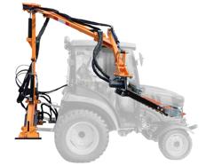 recortadora de brazo hidraulica cortasetos para tractor mod falco 130 h