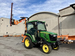 recortadora de brazo hidraulica cortasetos para tractor mod falco 160 h