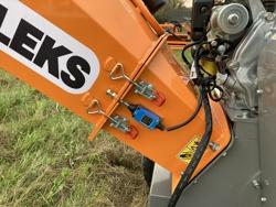 trituradora de ramas térmica dk 800 honda con motor independiente