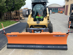 pala quitanieves para cargadoras compactas hasta 3 toneladas ln 250 m