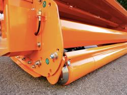 trituradora lateral hydraulica alce 160 de martillos