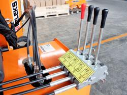 trituradora de brazo para tractor con cabezal de corte mod condor 100
