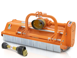 desbrozadora de martillos leopard 140 sp para tractor 30 70cv