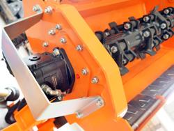 trituradora de brazo para tractor con cabezal de corte mod condor 120