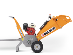 trituradora de ramas térmica dk 500 lf con motor independiente 15cv