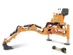 mini excavadora universal para tractores compactos drs 1000t