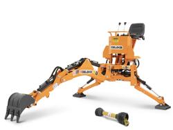 mini excavadora universal para tractores compactos drs 1000