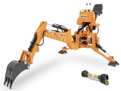 mini excavadora universal para tractores compactos drs 2000