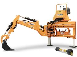 mini excavadora universal para tractores compactos drs 2000t