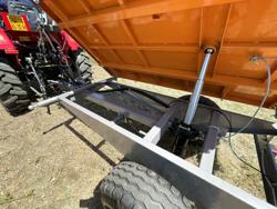 remolque agricola basculante hacia tres lados modelo rm 14t3s
