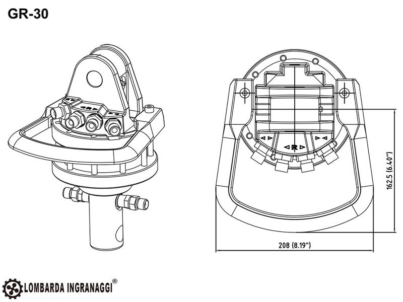 pinza-para-mini-excavadoras-y-grúas-forestales-capacidad-800kg-mod-dk-11-gr-30