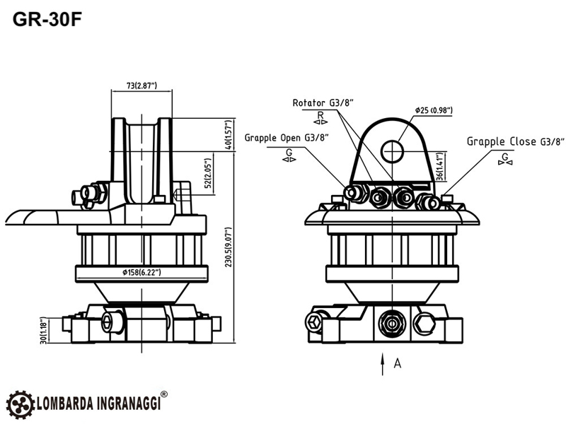 pinza-forestal-y-rotator-hidráulico-para-mini-excavadoras-y-grúas-forestales-capacidad-800kg-mod-dk-11-gr-30f